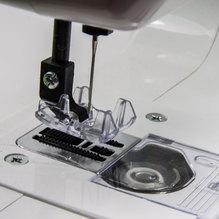 Janome Kindernähmaschine SewMini Platinum mit Geradstich und Zick Zack