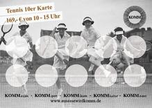 Tennis 10er Karte