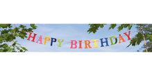 Panoramapostkarte Happy Birthday