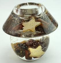 Gilde Teelichthalter Dreamlight Nobless Cinnamon 70645-1