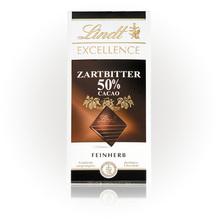 Lindt 'Excellence Zartbitter 50%' (Aktion), 100g