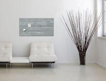 Glas-Magnetboard artverum® Sichtbeton