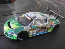 Scal3717 Scalextric Audi R8 GT3 Crocodile 12h Bathurst
