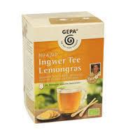 Gepa Ingwer Tee mit Lemongras