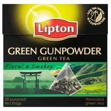 Lipton Grüner Tee Gunpowder