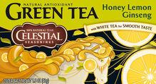 Celestial Seasonings Green Tea Honey Lemon Ginseng