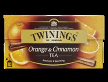 Twinings Schwarzer Tee Orange Zimt (Orange Cinnamon)