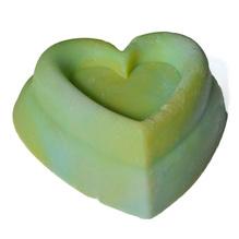Olivenölseife 'Herz Olivia Silk'