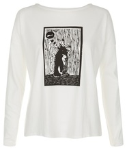 People Tree Oversize-Shirt Penguin Tee