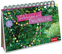 Kalender Herzenswünsche 2017