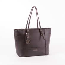 Guess Damenshopper Delaney in Schwarz