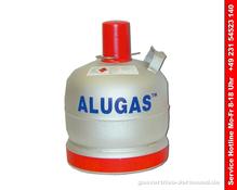 Neue 6 kg Alu Camping Propangasflasche  ungefüllt, geprüft bis Ende 2025