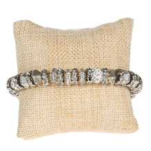 Armband, Silber/Gold
