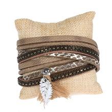 Armband mit Blatt-Anhänger