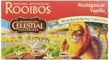 Celestial Seasonings Tea Rooibos Madagascar Vanille MHD: 13.02.2017