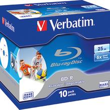 Verbatim BD-R 43713 1-6x 25GB Jewel Case 10 St./Pack.