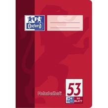 Oxford Vokabelheft 100050383 DIN A5 90g 32Bl. liniert