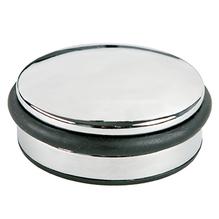 ALCO Türstopper 2850 10x4cm 1300g Metall/Gummi chrom