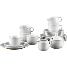 Seltmann Weiden Kaffeeservice Compact Uni 482-122 20tlg weiß