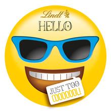 Lindt 'HELLO Emoti – just too cooooool!', 30g