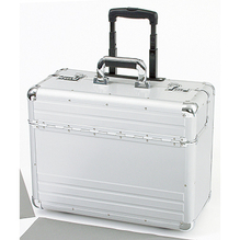ALUMAXX Pilotenkoffer OMEGA 45122 48x37x23cm Aluminium silber