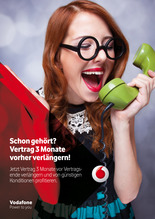 Vodafone Vertragsverlängerer - Jetzt 3 Monate vorher