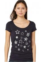T-Shirt mit Sterne-Print