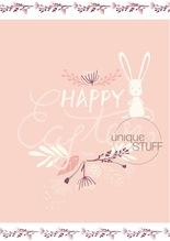 Karte Happy Easter Ostern