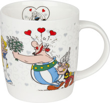 Becher - Asterix Ich bin verliebt - 380ml - Könitz