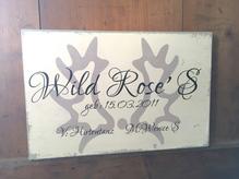 Namensschild für die Pferdebox Wunschbeschriftung Stall Schild 20 x 30