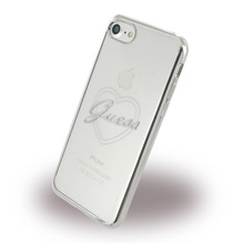 Guess - Apple iPhone 7 Heart GUHCP7TRHS - TPU Cover / Silikon Case / Schutzhülle -