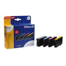 Pelikan Tintenpatrone 4105882 P24 wie HP 364XL sw/c/m/y 4 St./Pack.