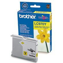 Brother Tintenpatrone LC970Y 300Seiten gelb