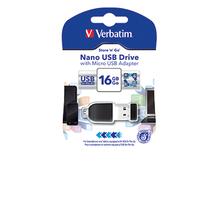 Verbatim USB Stick OTG 49821 16GB