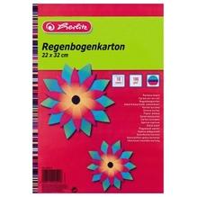 Herlitz Regenbogenkarton 245415 22x32cm sortiert 10 Bl./Pack.