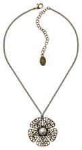 Konplott Kette pendant Flamenco grey large antique brass
