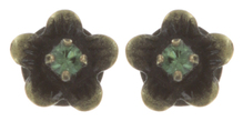 Konplott Ohrring stud Eternal Glory green antique brass