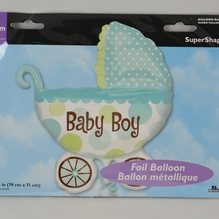 Folienballon SuperShape 'Baby Boy' inkl. Helium