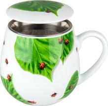 Kuschelbecher - Tea For You - Marienkäfer - 420ml - Könitz