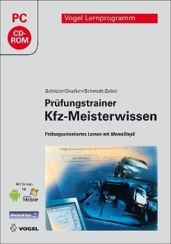 Prüfungstrainer Kfz-Meisterwissen   Schlüter, Volkert; Deußen, Ralf; Schmidt, Jörg; Zobel, Carl-Heinz