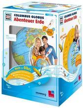 TING-Starterset: WAS IST WAS Columbus Globus 'Abenteuer Erde'. Ohne Hörstift