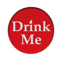 Glasuntersetzer Drink Me - Set À 4Stück
