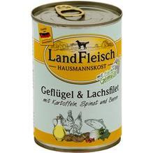 Landfleisch Hausmannskost Geflügel&Lachsfilet 12x400g