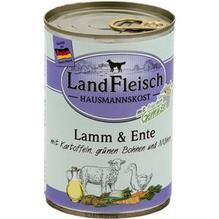 Landfleisch Hausmannskost Lamm&Ente 12x 400g