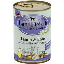 Landfleisch Hausmannskost Lamm&Ente Wildapfel 12x400g