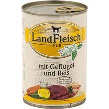 Landfleisch Pur Geflügel&Reis extra mager