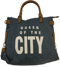 Tasche queen of the city blau
