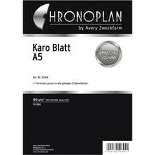 Chronoplan Notizen 50304 DIN A5 kariert 50 Bl./Pack.