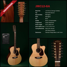 SIGMA Guitars  JMC12-GA 12-String Guitar / Akustische Gitarre, 12-saitig