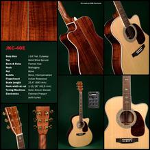 SIGMA Guitars JKC-40E, akustische Gitarre, Sondermodell